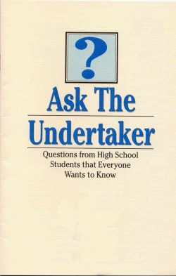 ask the undertaker