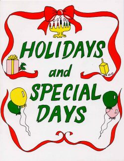 holidays special events